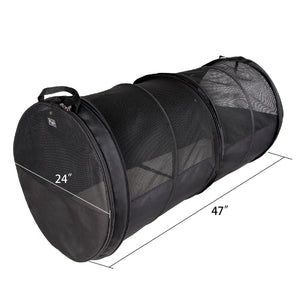 Petsfit Car Crate Tube Kennel for Pet