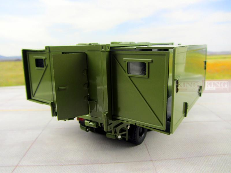 KNL Hobby Diecast Truck 1:43 scale Steyr Military shower truck for Chinese army Military Shan Xi Automobile PLA heavy Military shower vehicle