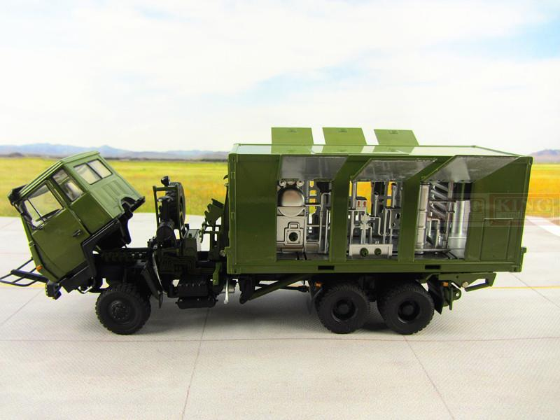 KNL Hobby Diecast Truck 1:43 scale Steyr Water Purifier Container Truck for Chinese army Military Shan Xi Auto heavy Water Purifier Container Truck PLA