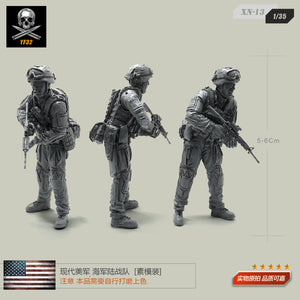 1/35 Hyundai US Army Marine Corps Phenomenon Resin Soldier Element XN-13