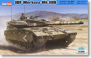 Hobby Boss 1/35 scale tank models 82441 Mecca Mk.IIID main battle tank
