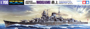 TAMIYA 1/35 scale models 1/700 scale model 31359 IJN Light Cruiser Mogami