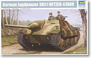 Trumpeter 1/35 scale model 05524 Germany 38 (t) Stalker-STARR plan to expel chariot