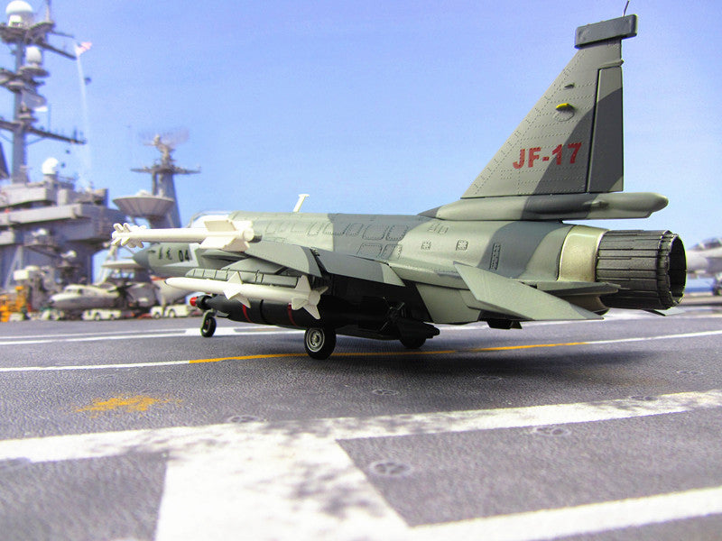 KNL Hobby diecast model China Airforce CPLA FC-1 length 32CM thunder fighter 1:45 model Chengdu FC-1/JF-17 aircraft model alloy model