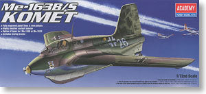 ACADEMY 1673/12470 Me163B / S Comet rocket-powered interceptor