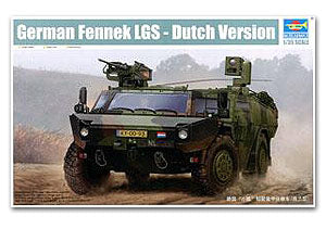 "Trumpeter 1/35 scale model 05533 Germany""small fox"" wheeled light armored vehicle - the Netherlands Ver"