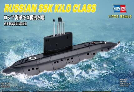 Hobby Boss 1/700 scale models 87002 Russian Navy Kilo class submarines