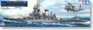 "TAMIYA 78028 US Navy Iowa class BB-62 ""New Jersey"" battleship"