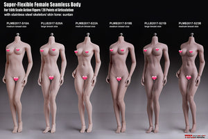 PHICEN TBLeague Super-Flexible Female Seamless Body 28 points of Articulation S18A 19B 20A 21B 22A23B 1/6 action figure