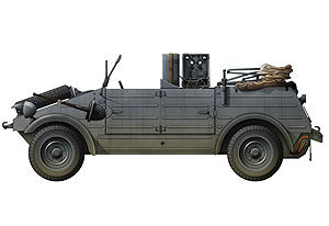 1/35 scale model Book Dragon 6886 Kubelwagen Radio Car