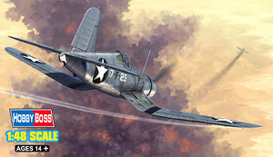 Hobby Boss 1/48 scale aircraft models 80381 US F4U-1 Pirate Fighter (early type) *