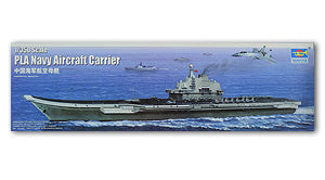 "Trumpeter 1/350 scale model 05617 Chinese Navy ""Liaoning"" aircraft carriera PLA Navy Aircraft-Carrier"