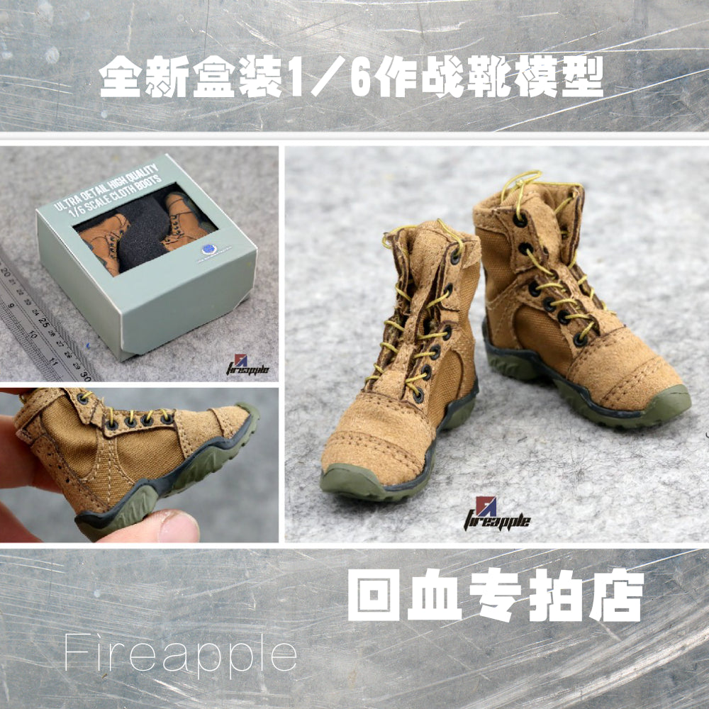 1/6 soldiers CALTEK USMC combat boots 1 than 6 US seals shoes desert yellow new boxed Action Figures