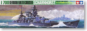 "TAMIYA 77518 World War II German Navy ""Shane Horst"" Battle Cruiser"