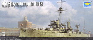 "Trumpeter 1/350 scale model Trumpeter 06706 British Royal Navy ""fearless"" battleship type 1918"