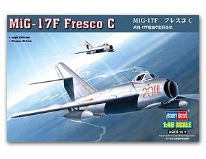 Hobby Boss 1/48 scale aircraft models 80334 MiG-17F murals C fighters