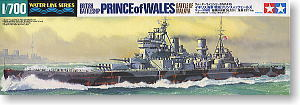 TAMIYA, 1/700, scale, model, 31615 Royal Navy, Prince of Welsh battleship, battle of Malaya""