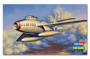 Hobby Boss 1/48 scale aircraft models 81726 F-84F thunderbolt fighter