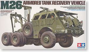 "TAMIYA 1/35 scale models 35244 M26 ""Dragon"" field rescue vehicle"