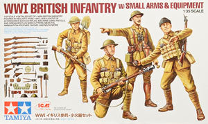 TAMIYA 32409 A British infantry and equipment combination