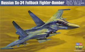 Hobby Boss 1/48 scale aircraft models 81756 Su-34 attack guard fighter bombers
