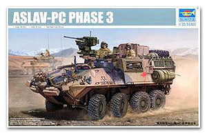 Trumpeter 1/35 scale model 05535 ASLAV-PC Wheeled Armored Vehicle Stage 3 Improved