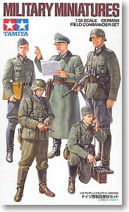 TAMIYA 1/35 scale models 35298 World War II German Field Commander and Combat Staff Group