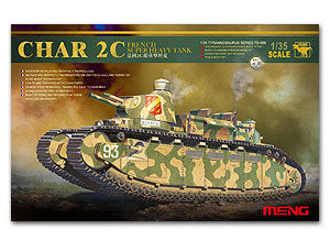 MENG TS-009 France Charles 2C super-heavy tanks