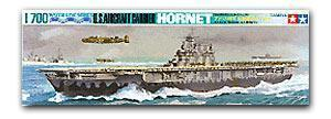 "TAMIYA 77510 US Navy York City CV-8 ""Hornet"" aircrafts carrier"