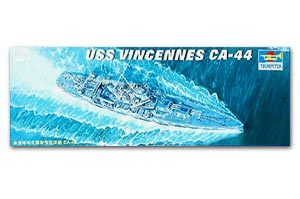 "Trumpeter 1/700 scale model 05749 New Orleans CA-44 ""Vincent"" heavy cruiser"