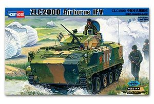 Hobby Boss 1/35 scale tank models 82434 China ZLC2000 paratroopers tanks