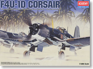 ACADEMY 2147/12273 F4U-1D pirate ship-borne fighter-bomber