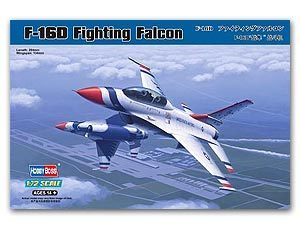 Hobby Boss 1/72 scale aircraft models 80275 F-16D falcon fighters & ldquo; Thunderbird aerial stunt team & rdquo;