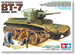 TAMIYA 1/35 scale models 35309 Soviet BT-7 light combat vehicle type 1935