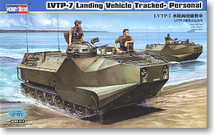 Hobby Boss 1/35 scale tank models 82409 LVTP-7 Crawler Amphibious Combat Armored Personnel Carriers