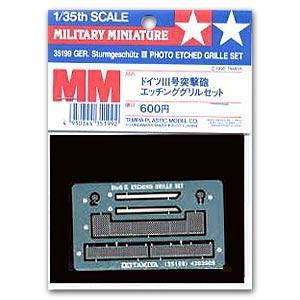 Metal etching parts for TAMIYA 1/35 scale models 35199 3 assaulte guns