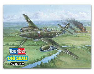 Hobby Boss 1/48 scale aircraft models 80370 Messers Mitter Me262A-1a / U1 Fighter *