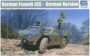 "Trumpeter 1/35 scale model 05534 Germany""African small fox"" wheeled armored reconnaissance car"