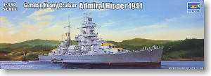 Trumpeter 1/350 scale model 05317 Admiral Seppel Heavyman Cruiser 1941