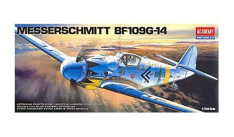 ACADEMY 1653/12454 Messerschmitt Bf109G-14 fighter