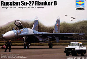 Trumpeter 1/144 scale model 03909 Su-27 defender B fighter