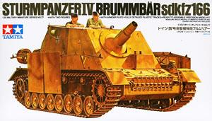 "TAMIYA 1/35 scale models 35077 SdKfz.166 4 assault chariot ""Grizzlies"""