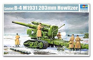 Trumpeter 1/35 scale model 02307 Soviet B-4 M1931 203mm heavy howitzera