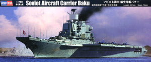 "Hobby Boss 1/700 scale war ship models 83416 Soviet Navy Kiev class ""Baku"" aircrafts carrier"