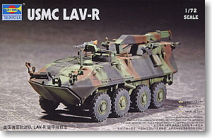 Trumpeter 1/72 scale model 07269 US Marine Corps LAV-R 8X8 Wheeled Rescue Vehicle