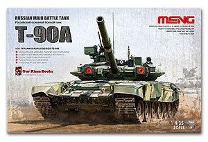 MENG TS-006 Russian T-90A main battle tanks