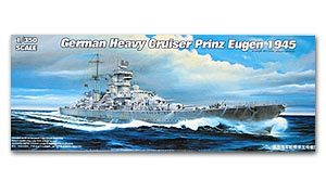 "Trumpeter 1/350 scale model 05313 German Navy ""Prince Eugen"" heavy cruiser 1945"