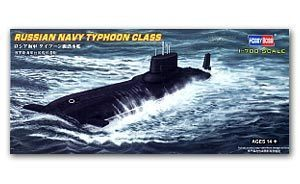 Hobby Boss 1/700 scale models 87019 Russian Navy Typhoon Class Nuclear Submarine
