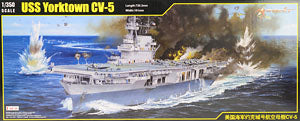 "Merit 1/350 scale model 65301 US Navy York City CV-5 ""York City"" Aircraft for Carrier"