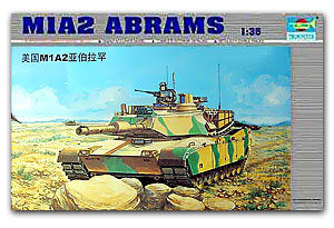 Trumpeter 1/35 scale tank models 00337 M1A2 Abrams main battle tank